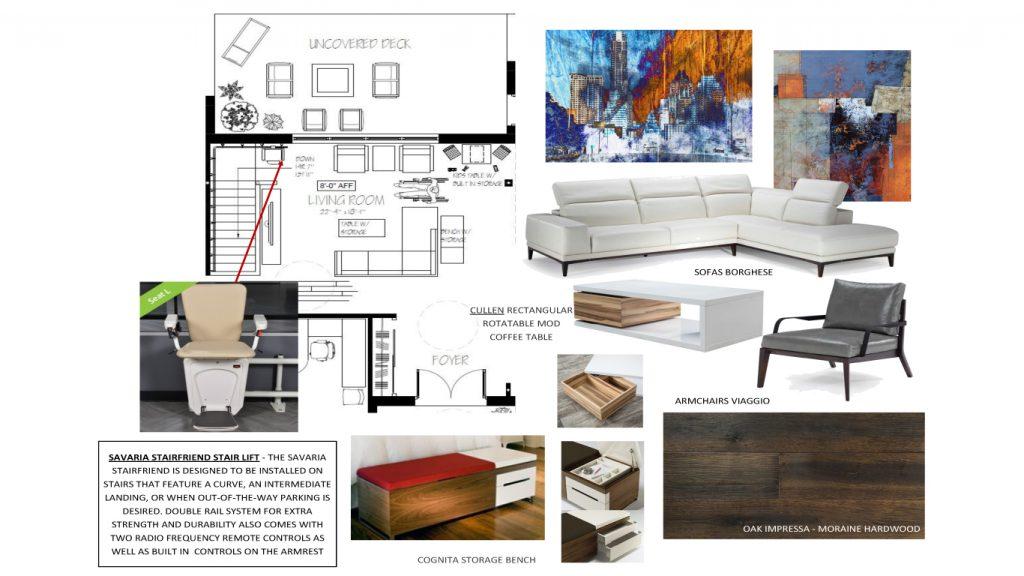 Living Room Erin Floorplan Ideas Board